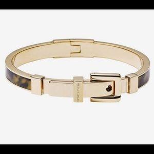 Michael Kors Tortoise Gold Buckle Bracelet